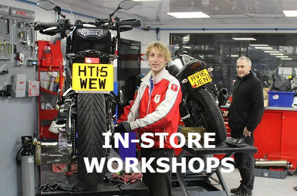 Motorcycle workshop