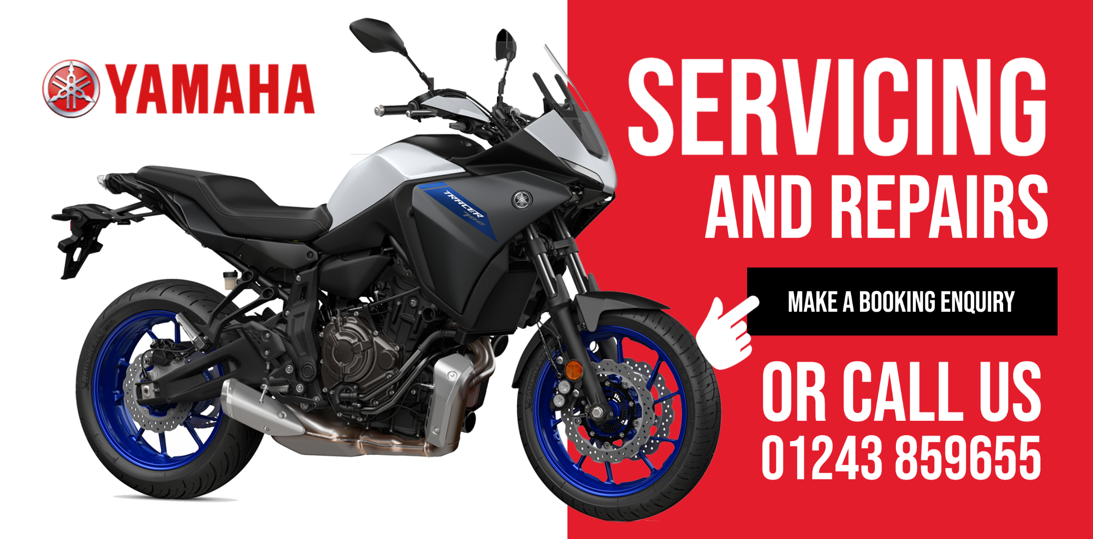Yamaha Motorcycle Servicing