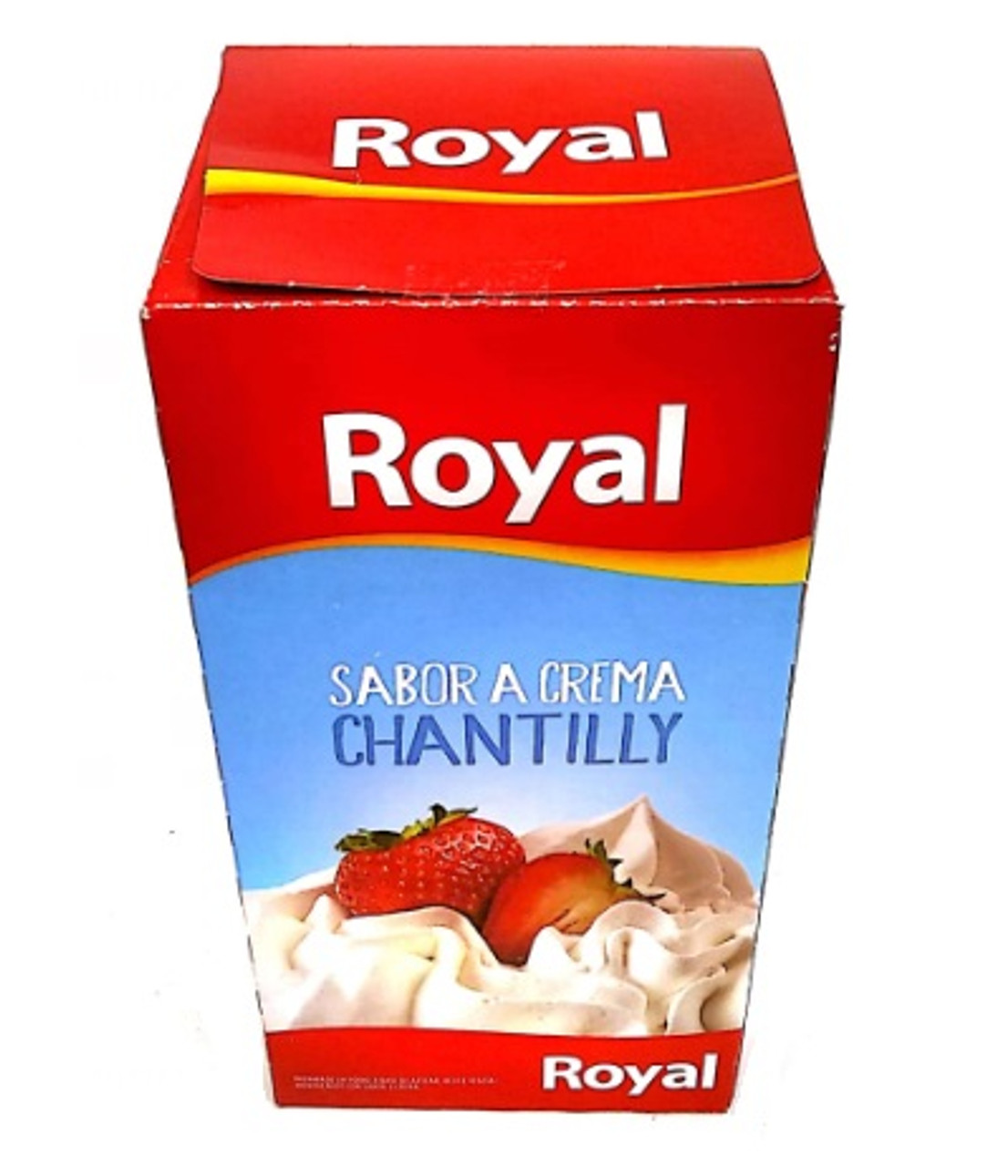 Royal Sabor Crema Chantilly Ready To Make Chantilly Cream 8 Servings Per Pouch 50 G 1 76 Oz Box Of 6 Pouches Pampa Direct