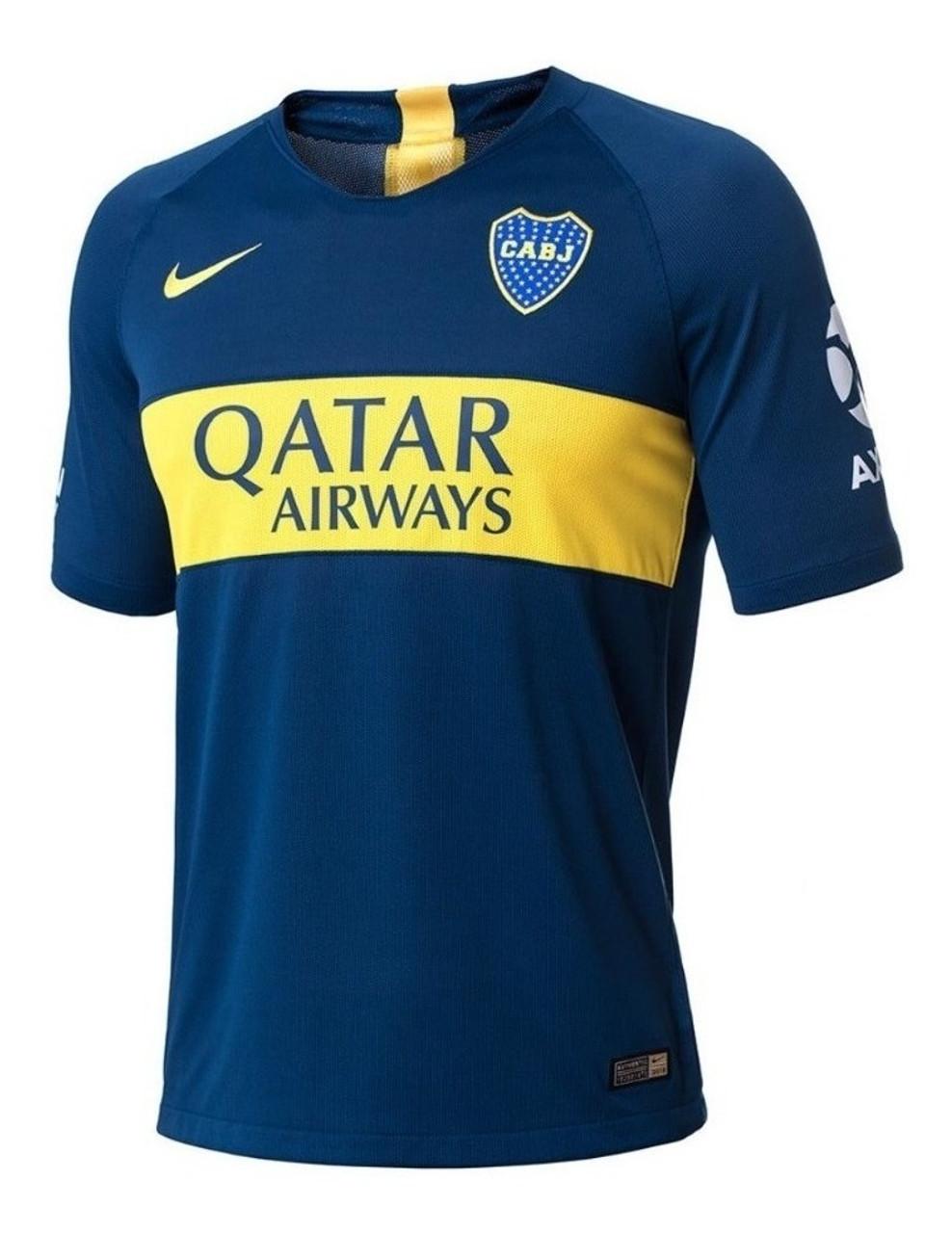 separation shoes 751c7 bbb9d Boca Juniors Official Soccer Men's Camiseta Jersey, 2019