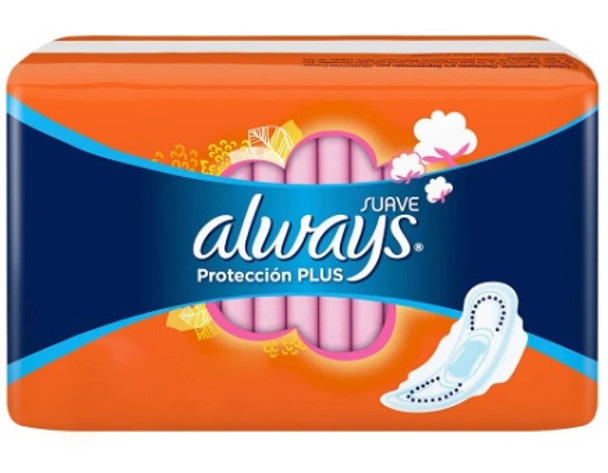 Always Toallitas Femeninas Protección Plus Seca Feminine Wipes Ultra Protection (16 count)