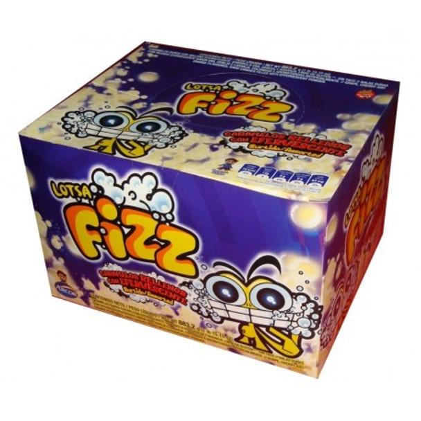 Caramelos Fizz Super Ácidos Extreme Sour Hard Candies, 883.2 g / 31.15 oz (box of 48)