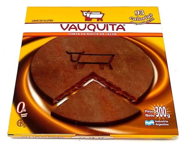 Vauquita Classic Dulce de Leche Cake, 300 g / 10.58 oz