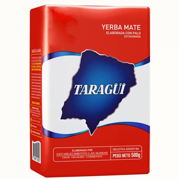 Taragüi Yerba Mate Classic Flavor Con Palo (with Stems), from Las Marías (500 g / 1.1 lb)
