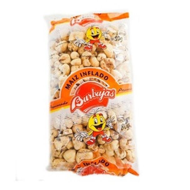 Tutucas Maíz Inflado Azucarado Sugary Puffed Corn, 80 g / 2.82 oz (pack of 3)