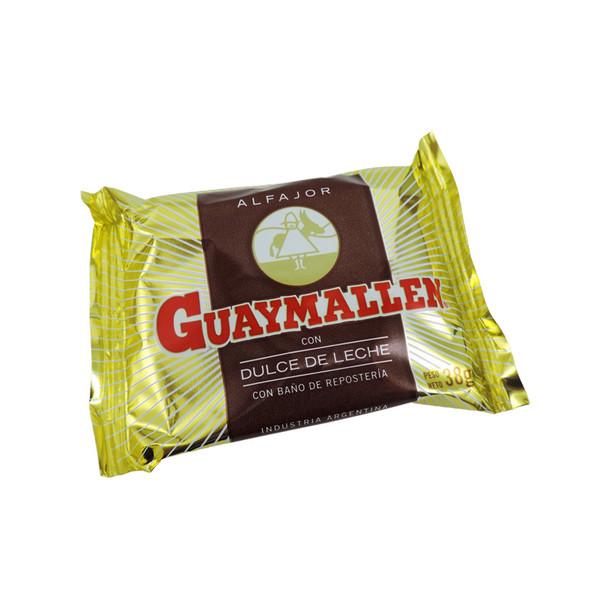 Guaymallen Alfajor Chocolate with Dulce de Leche Complete Wholesale Box, 38 g / 1.3 oz ea (40 count)