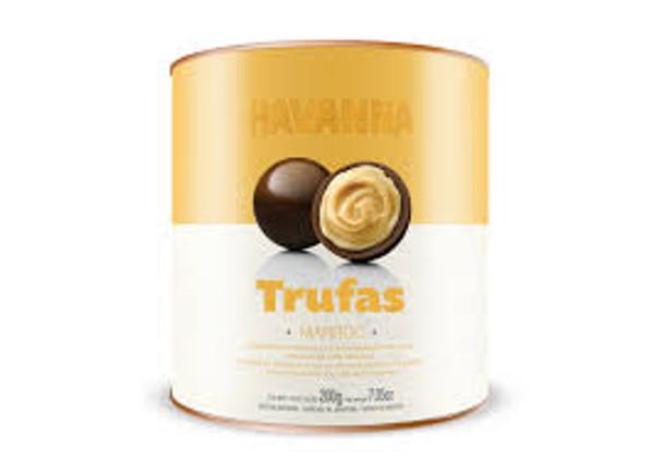 Havanna Trufas De Chocolate Rellenas con Marroc Chocolate Truffles Filled with Marroc, 200 g / 7.05 oz