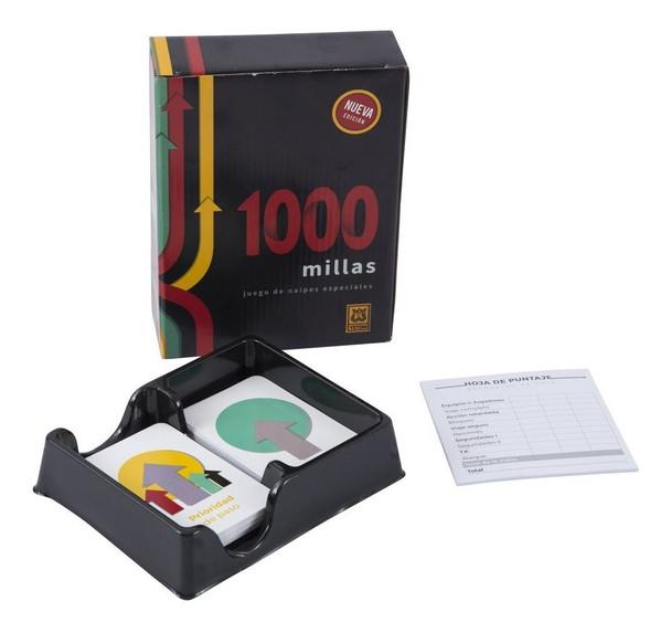 1000 Millas Juego de Naipes Especiales Cards Game by Yetem