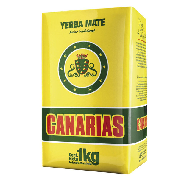 Canarias Yerba Mate Traditional Uruguay Yerba (Promo Pack 1 kg, 3 kg, 8 kg)