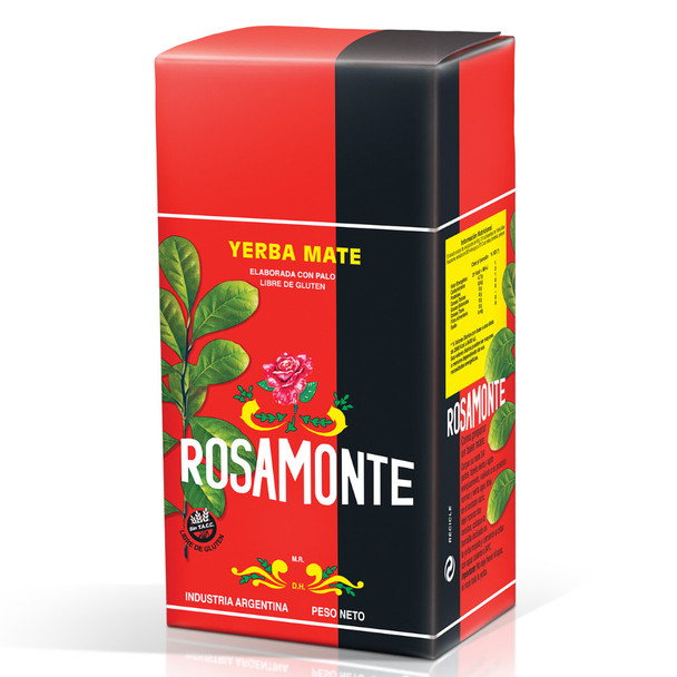 Rosamonte Yerba Mate Traditional - Plus Envase Alumminizado (1 kg / 2.2 lb)