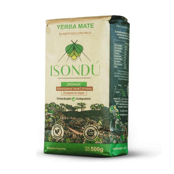 Isondú Certified Organic Premium Yerba Mate Con Palo (500 g / 1.1 lb)
