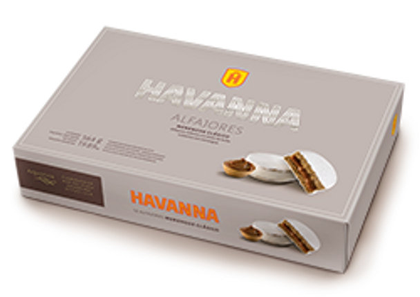 Havanna Alfajor Italian Meringue with Dulce de Leche (box of 12)