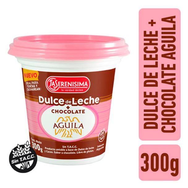 Dulce de leche con chocolate aguila 300g