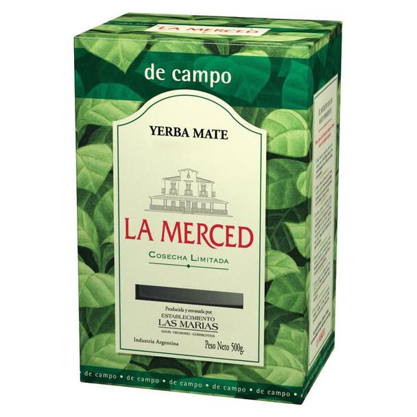 La Merced Yerba Mate Campo Classic Wholesale Bulk Box, 500 g / 1.1 lb (box of 6)
