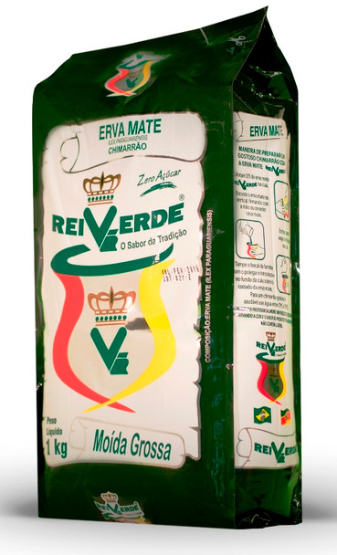 Rei Verde Erva-Mate for Chimarrão (1 kg / 2.2 lb)
