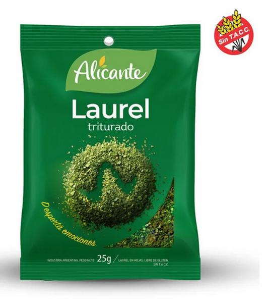 Alicante Laurel Triturado Ground Bay, 25 g / 0.88 oz (pack of 3)