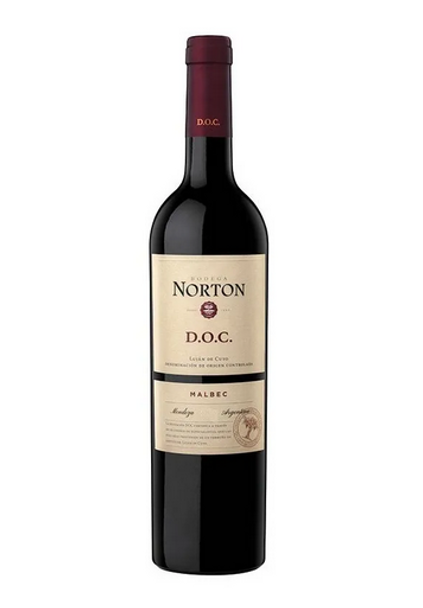 Norton D.O.C. Vino Tinto Malbec 2017 Red Wine by Norton Cellar - ABV 14.0%, 750 ml / 25.4 oz
