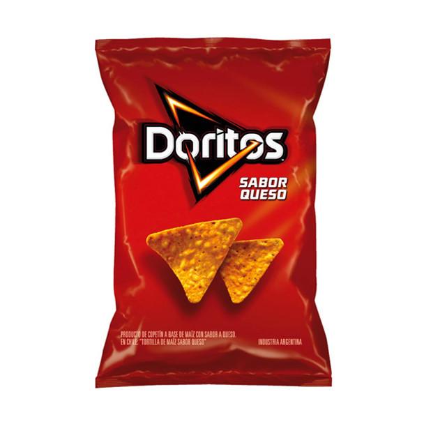 Doritos Sabor Queso Corn Snack Cheese Flavor Tortilla Chip, 140 g / 4.93 oz bag