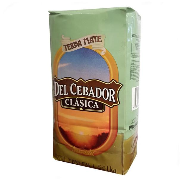 Del Cebador Yerba Mate Clásica Sin Yuyos, 1 kg / 2.2 lb bag