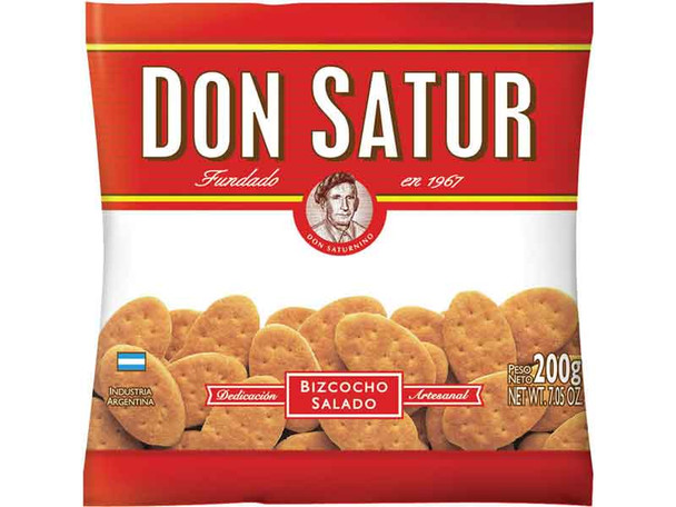 Don Satur Classic Biscuits Bizcochos, 200 g / 7.1 oz (pack of 3)