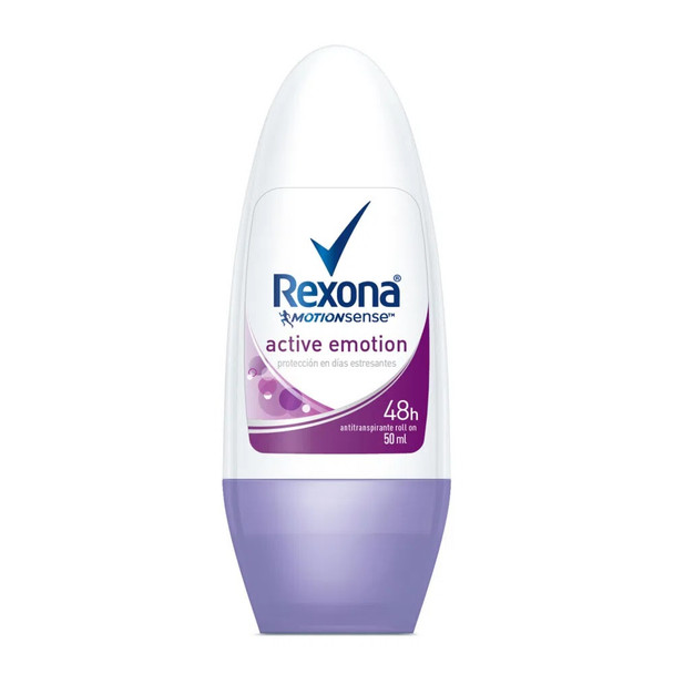 Rexona Active Motion Protección En Días Estresantes Antiperspirant Roll On, 50 g / 1.76 oz