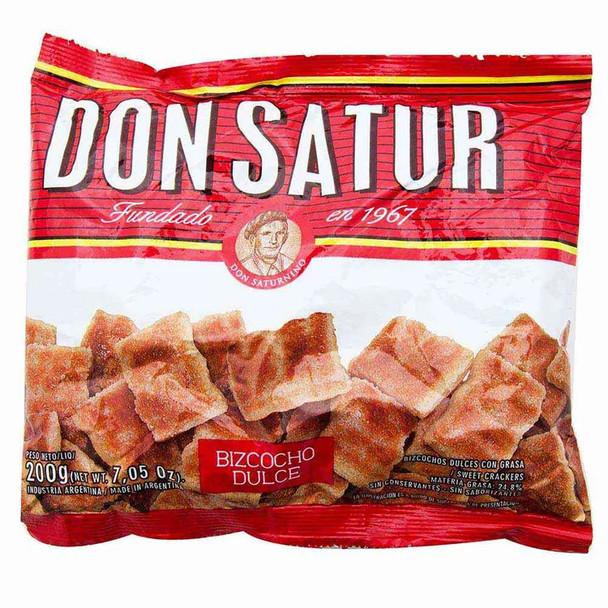 Don Satur Classic Sweet Biscuits Bizcochos Dulces, 200 g / 7.1 oz (pack of 3)