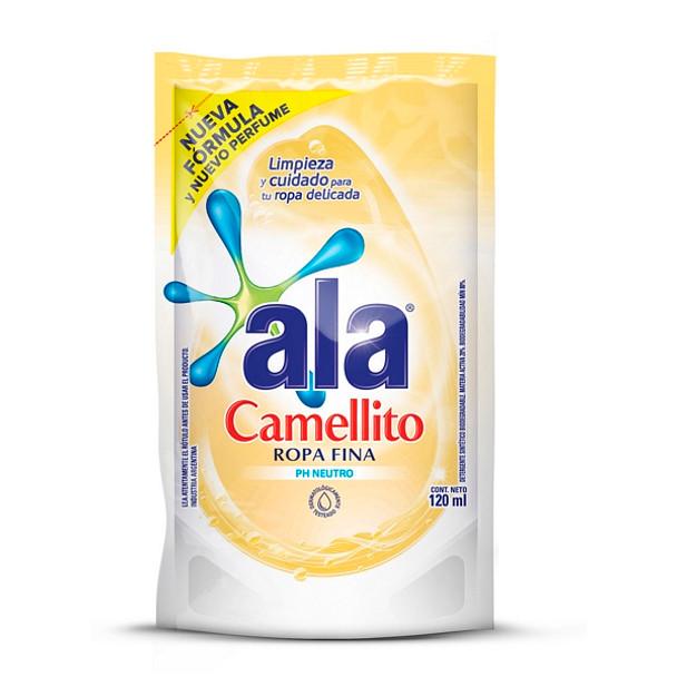 Ala Camellito Ropa Fina Matic Liquid Laundry Detergent Delicate Wash - PH Neutral Formula, 120 ml / 4 fl oz (pack of 3)