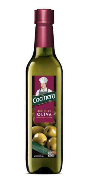 Cocinero Aceite de Oliva Olive Oil, 500 ml / 16.9 fl oz bottle