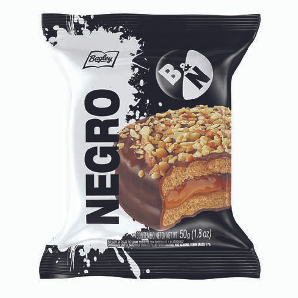 Blanco y Negro Alfajor Milk Chocolate, 50 g / 1.8 oz (pack of 6)