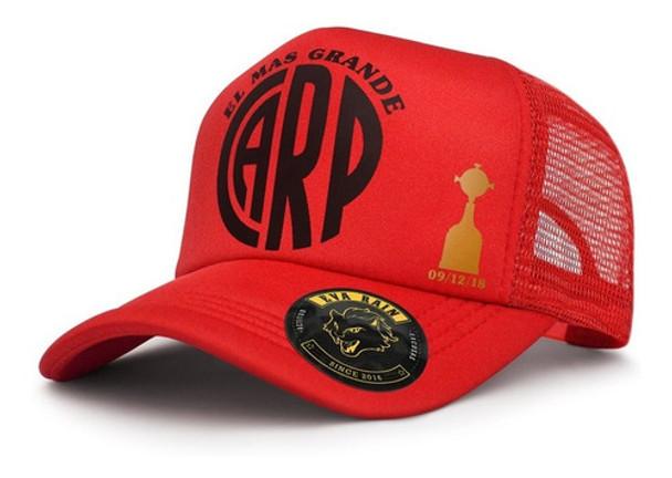 Gorra Trucker River Libertadores CARP Football Team - Adjustable Cap (50 cm to 63 cm)