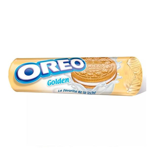 Oreo Golden Vanilla Sandwich Cookies Cream Filled, 117 g / 4.13 oz each (pack of 3)