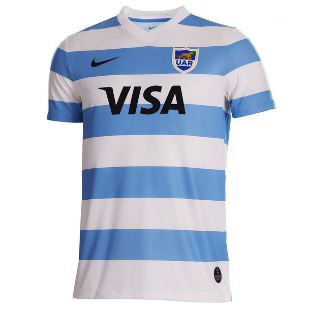 Los Pumas Camiseta Remera Titular Official Rugby Team Shirt Los Pumas - 2020 Edition (Latest Edition)