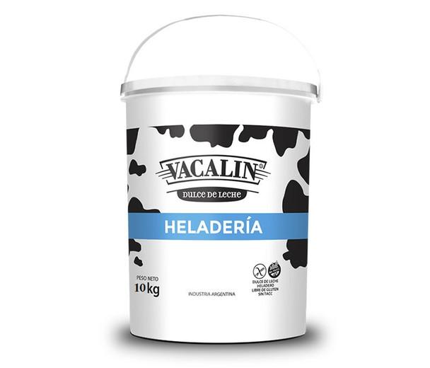 Vacalín Dulce de Leche Heladero Heladería Dulce de Leche for Ice Cream, 10 kg / 22.05 lb