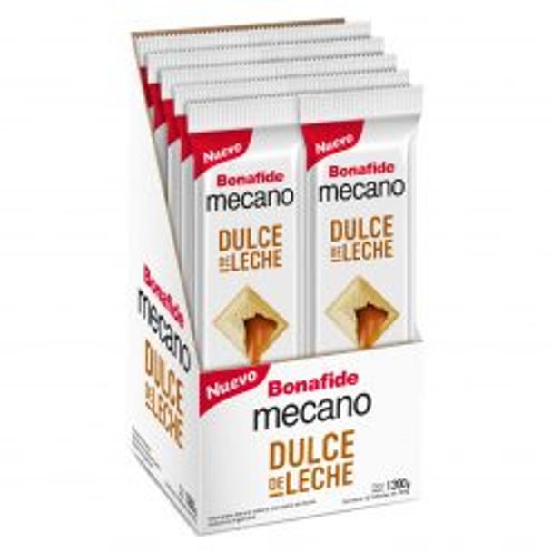 Mecano Dulce de Leche White Chocolate Bars with Dulce de Leche Filling Family Sized Pack, 100 g / 3.5 oz bar (box of 12 bars)