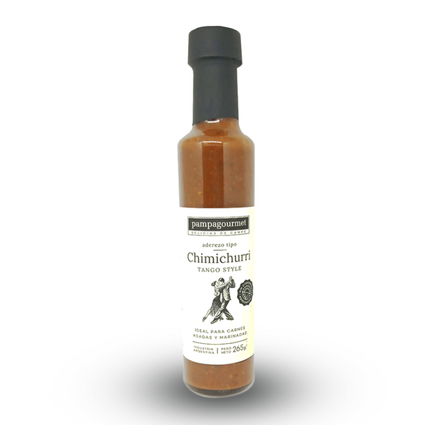 Pampa Gourmet Chimichurri Sauce Tango Style for Marinated & Roasted Meats, 265 g / 9.3 oz