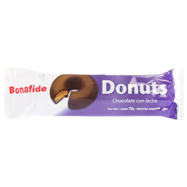 Bonafide Mini Donuts Milk Chocolate with Cookie, 78 g / 2.8 oz (pack of 3)