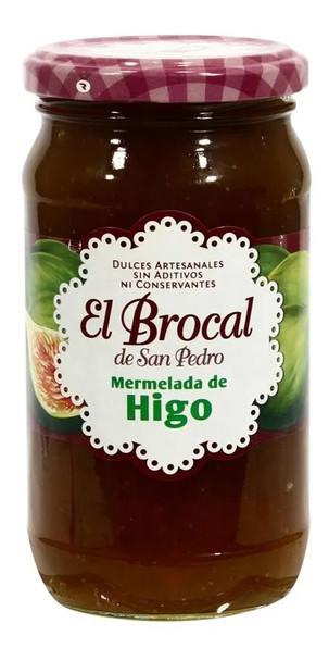 El Brocal Mermelada Higo Artesanal Fig Jam - Gluten Free, 420 g / 14.81 oz jar