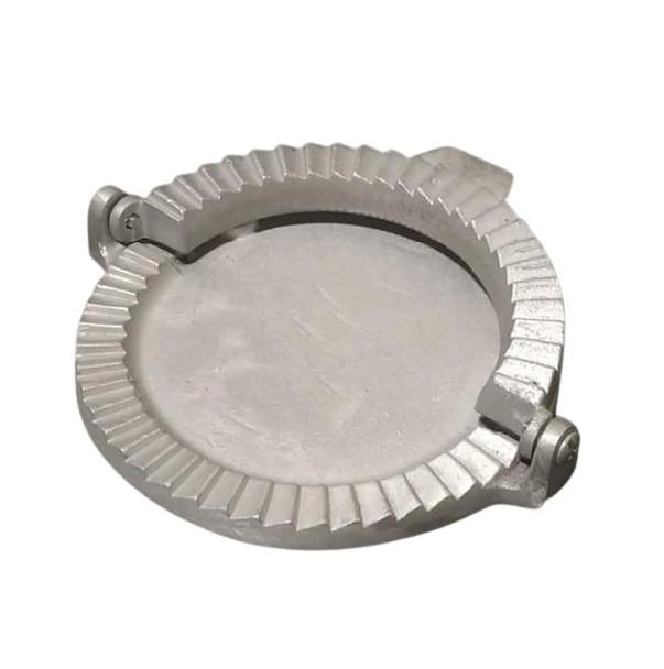 """Molde Para Empanadas Aluminio Dough Press Dumpling Maker Cutter for Empanadas, Dumpling, Pastelitos & Calzone, 15 cm / 5.9"""" diam"""