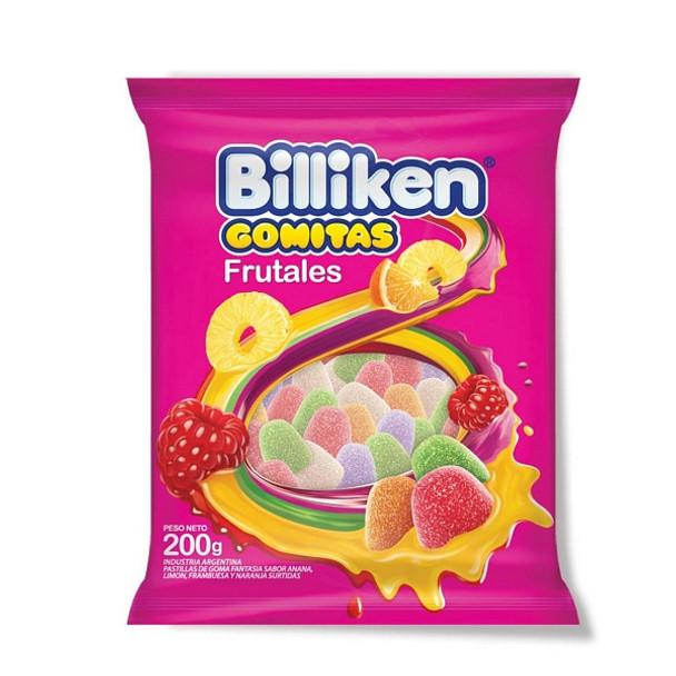 Billiken Gomitas Frutales Fruit Candies Gummies, 200 g / 7 oz