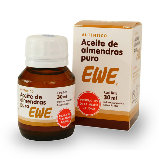 Ewe Aceite de Almendras Pure Almond Oil for the Skin, 30 ml