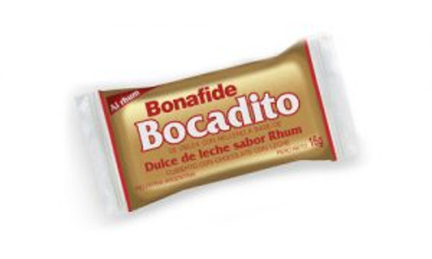 Bonafide Dulce de Leche & Rhum Bocadito Bite Traditional Bombón for Sharing (box of 24)
