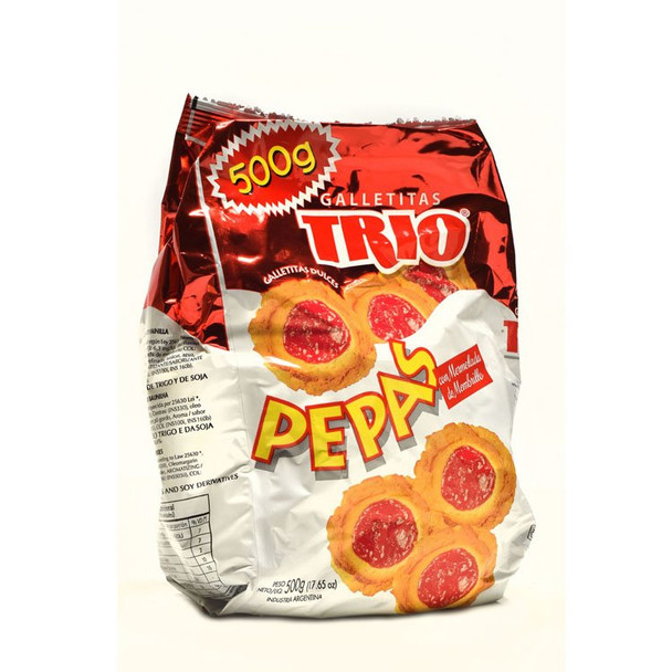 """Membrillo Trio Quince Jelly """"Pepas"""" Sweet Snack, 500 g / 17.6 oz"""