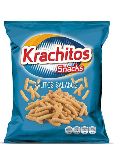 Krachitos Palitos Salados Super Bag, 800 g / 28.2 oz bag