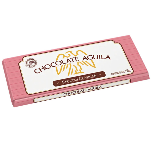 Águila Dark Chocolate Bar Perfect with Hot Milk Submarino/Remo, 150 g / 5.3 oz bar