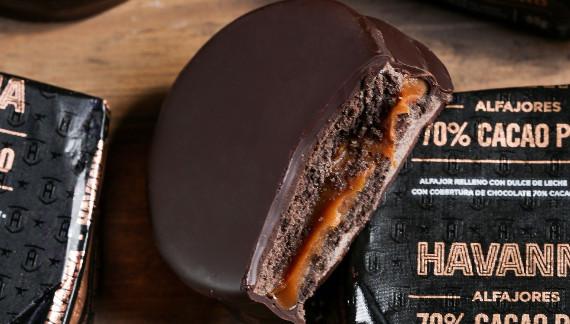 Havanna 70% cacao alfajores