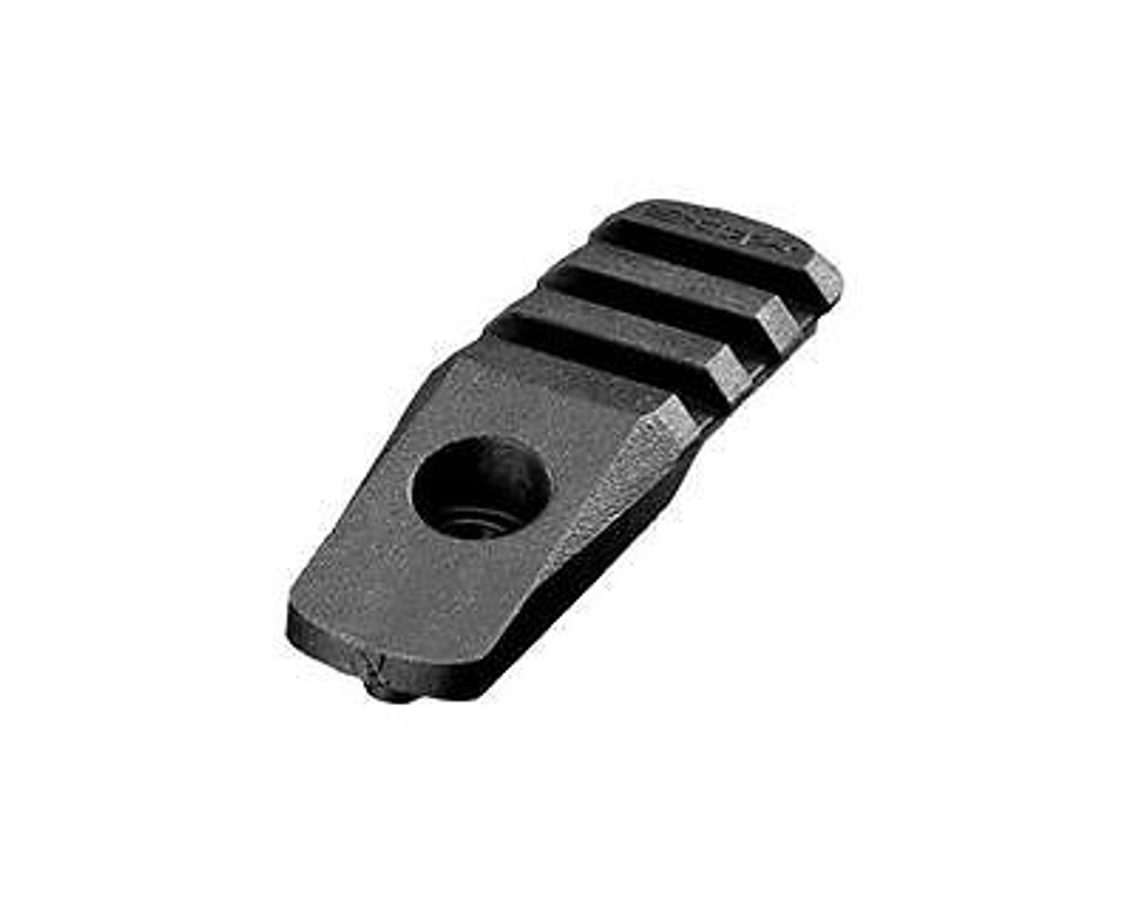 Magpul Cantilever Rail Section 3 Slot Black MAG437-BLK