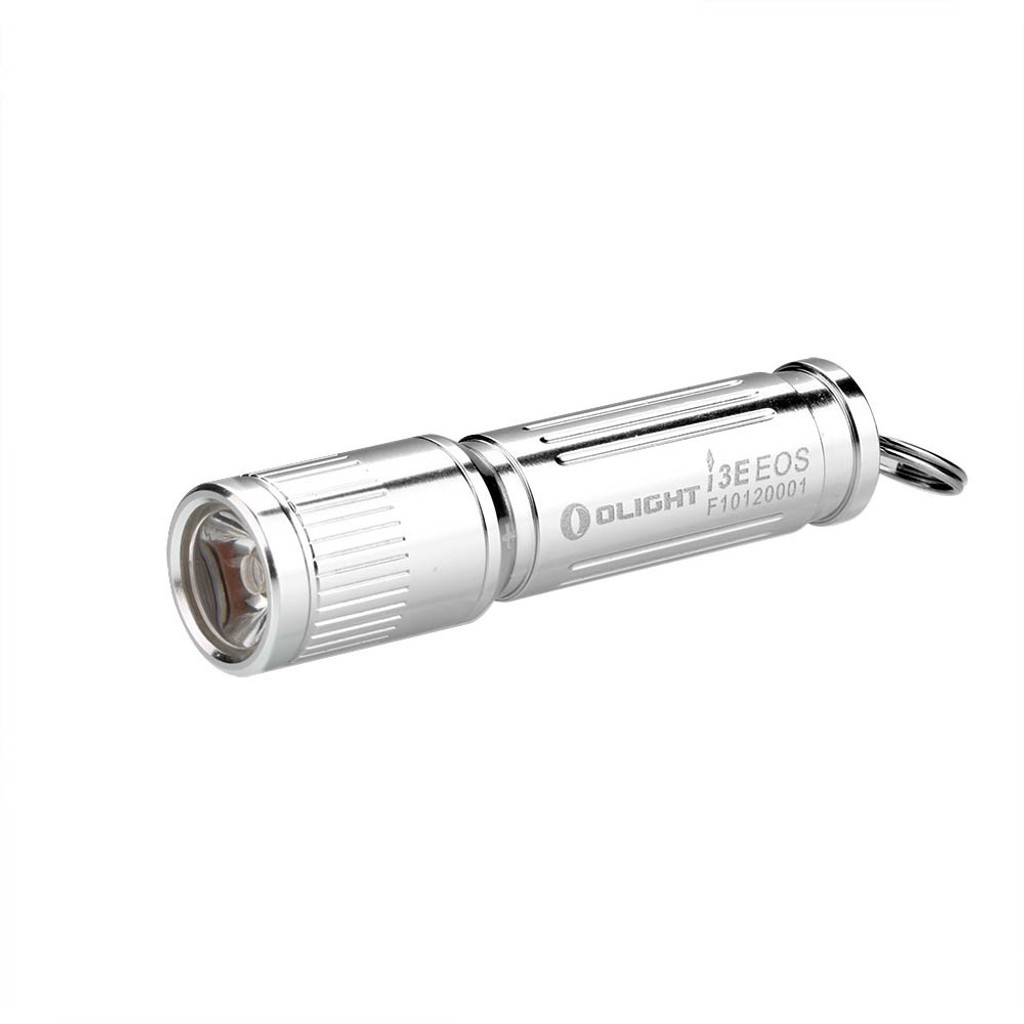 Olight i3E-SILVER EOS 120 Lumen Mini Keychain Flashlight Silver