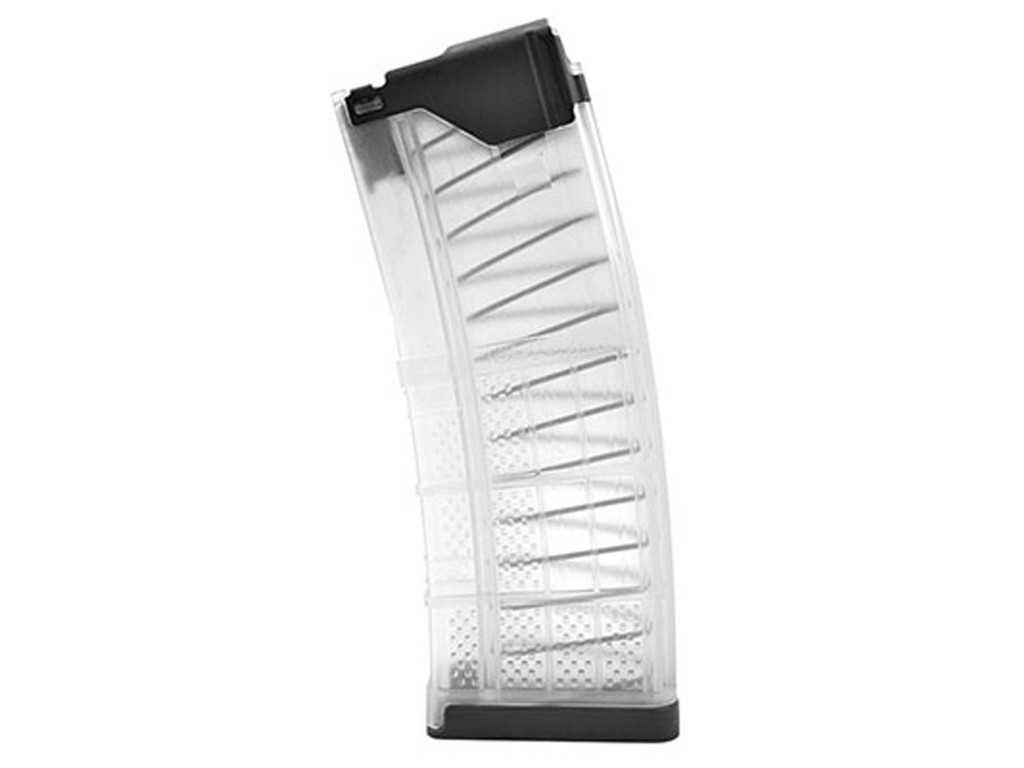 Lancer L5 Advanced Warfighter 30rd AR-15 Magazine L5AWM30  AR 15 AR15 .223 5.56 M4 30 RD Thirty Round L5AWM30-CLR Clear 738435617295