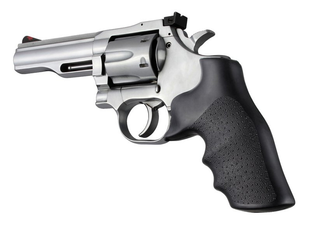 Hogue Dan Wesson Small Frame Rubber Monogrip Grip Black 357 Magnum MAG 57000 0743108570005 357MAG .357 Revolver Mono Grip