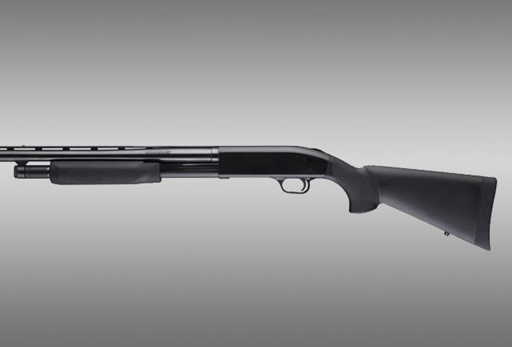 Hogue Mossberg 500 590 12GA OverMolded Shotgun Stock Kit With Forend